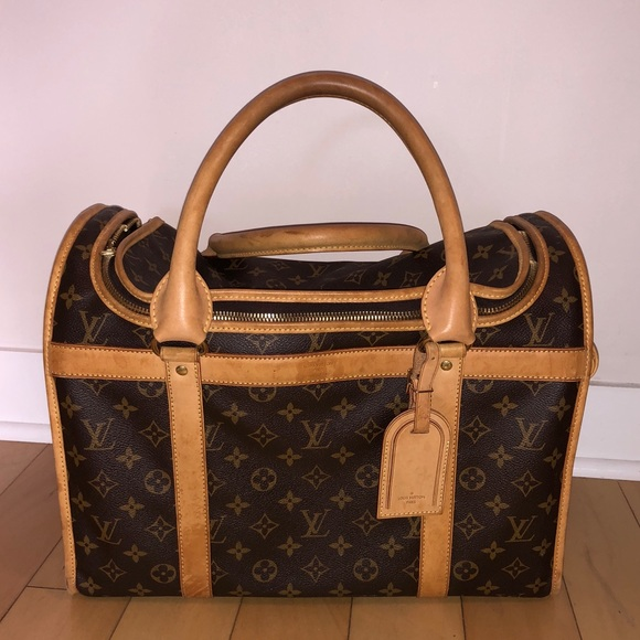 232d955eff7 Louis Vuitton Handbags - Louis Vuitton dog carrier (well loved)
